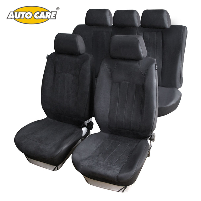 Universal Car Seat Covers With SUEDE VELOUR Material Super Warm Soft Fit For Winter Full