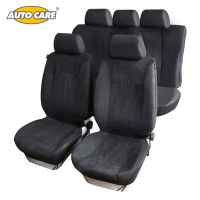 Universal Car Seat Covers With SUEDE VELOUR Material Super Warm Super Soft Fit For Winter Full
