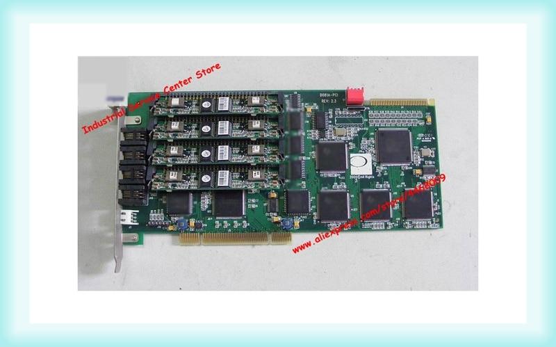 Original D081A PCI REV: 2.3 DONJIN DN081A voice card with four modules|Tool Parts|   -