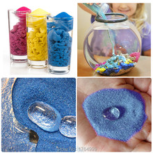 100g/Bottle Never Wet Magic Sand For Children Plasticine Dynamic Indoor Mars Space Sand Color Clay Moon Sand Children Gifts Toys(China)
