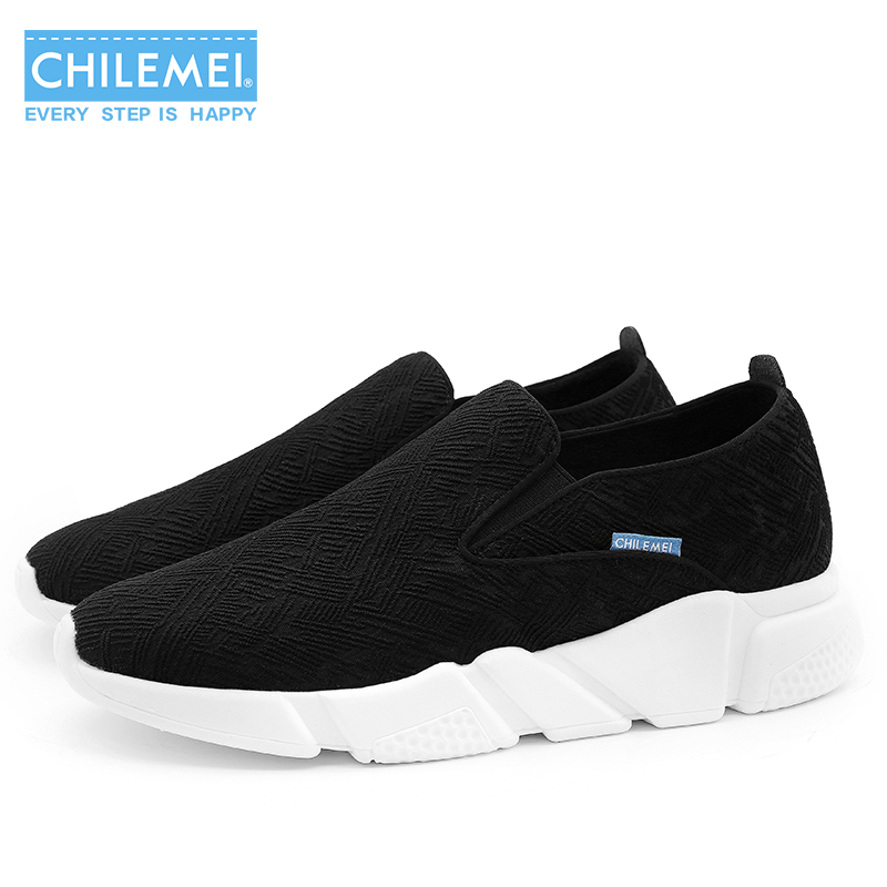 CHILEMEI New Arrival Unisex Spring Summer Comfortable Casual Shoes Mens Slip-on Shoes For Men Fashion Male Loafers Shoe the spring and summer of 2016 new men s leather shoes are comfortable size kevin slip on england shoes free shipping