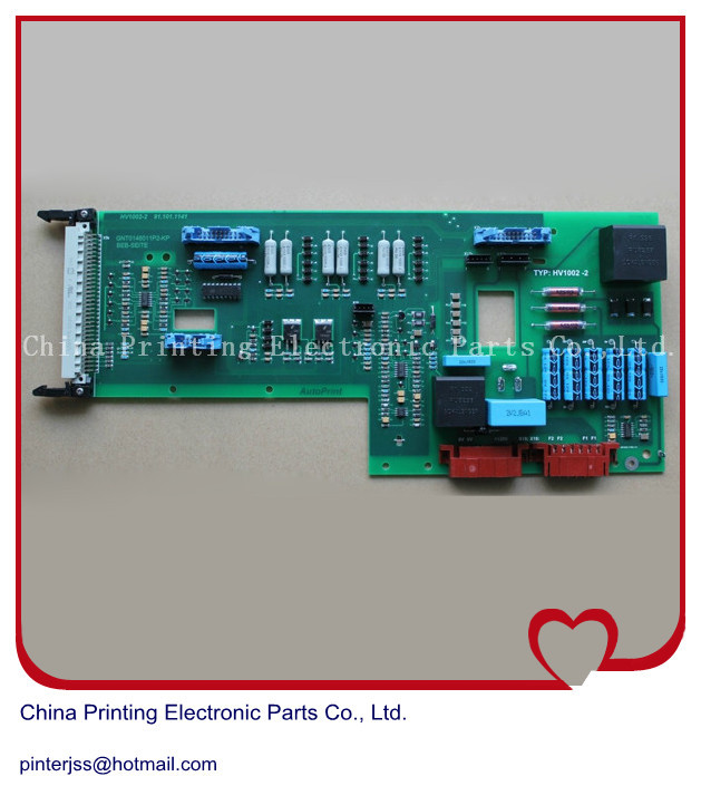 Free shipping printing card SLT_CON for heidelberg CD102 etc. machine SVT replace board 91.101.1141 91.101.1111 ampeg pro svt 7pro