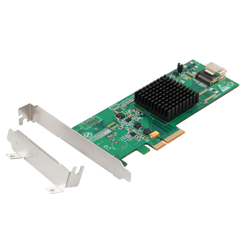 Marvell Chipset 4 Ports SATA 3.0 6Gb PCI Express PCIe2.0 Controller Card PCI-e to mini SAS converter mini SAS to 4 SATA3.0 Cable опция lenovo 00mj093 6gb sas 4 port host interface card