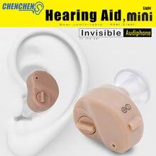 Портативный мини слуховой аппарат audiphones с регулируемым