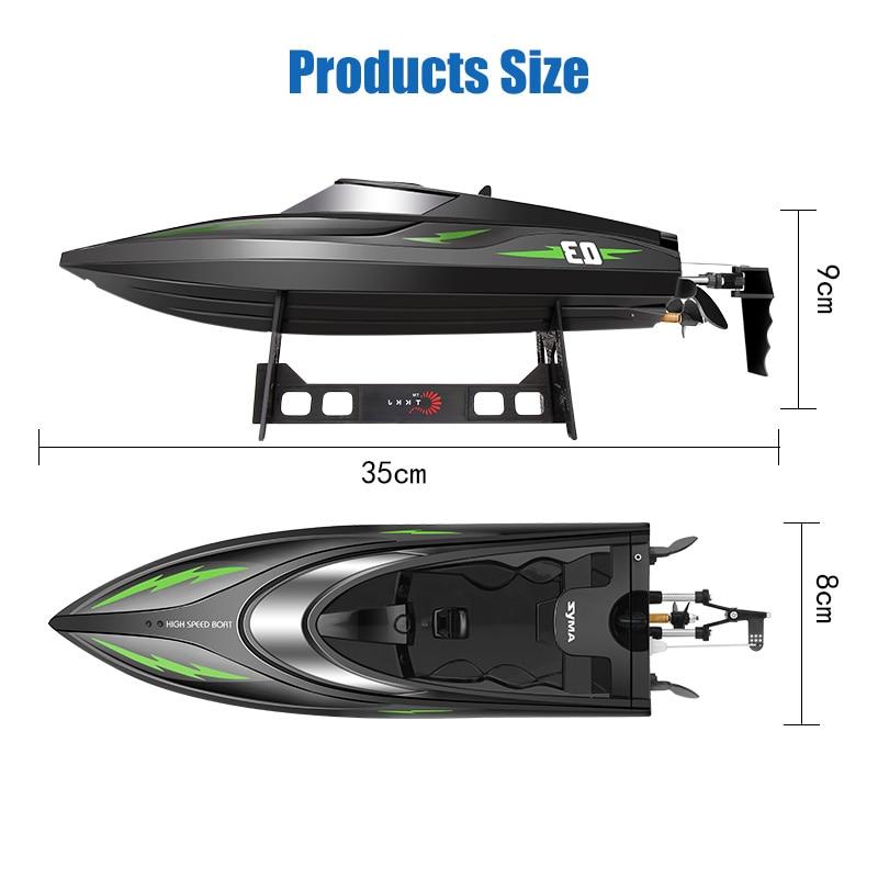 SYMA Q3 RC Boat წყალგაუმტარი Speedboat - დისტანციური მართვის სათამაშოები - ფოტო 4