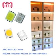 CRI>80 High Brightness 1000pcs 2835 LED SMD 18v 9v 6v 3v High power Light 1w 0.2w 0.3w 0.5w Chip high voltage