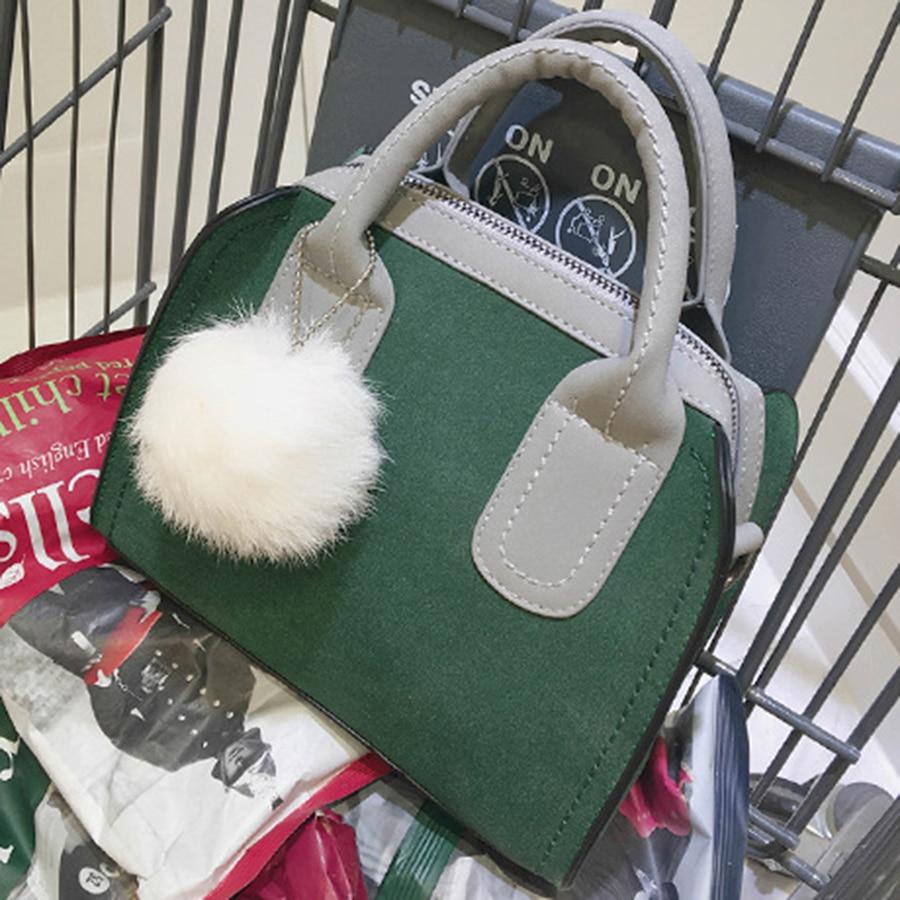 Qadın Çantaları Koreyalı Mat Mat Kiçik Kvadrat Paket Payız Yeni - Çantalar - Fotoqrafiya 3
