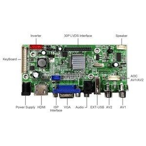 Image 3 - HDMI + VGA + 2AV + USB + Audio LCD Controller Board voor 14inch 15.6inch 17.3inch 1600x900 LP140WD2 LP156WD1 LP173WD1 Lcd scherm