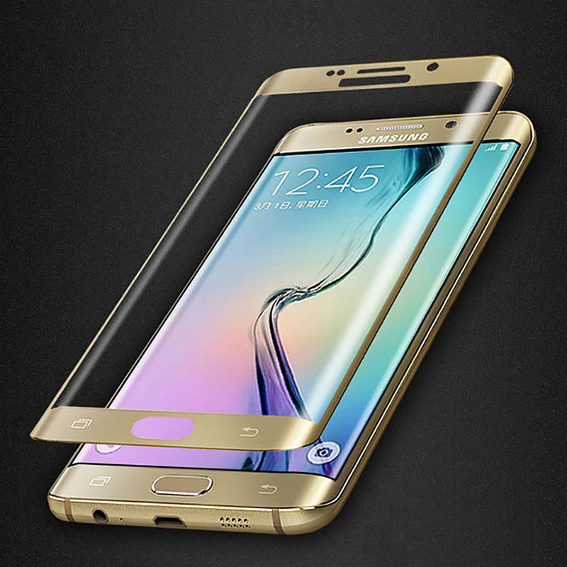 Full Coverage 2.5D 9H Screen Protector Tempered Glass For Galaxy S6 S6 Edge S7 S7 edge