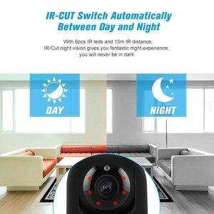 Image 4 - 1080P kamera WIFI bezprzewodowy niania elektroniczna Baby Monitor IP kamery detekcja ruchu noc wizja bezpieczeństwo w domu kamera WIFI bezpieczeństwa zestaw do organizacji