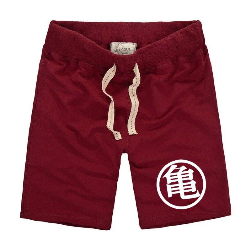 2018 hombres shorts Romper Dragon Ball Z impreso traje Vegeta Casual verano playa de Nueva hombres Goku GUI KAME Shorts 7 colores