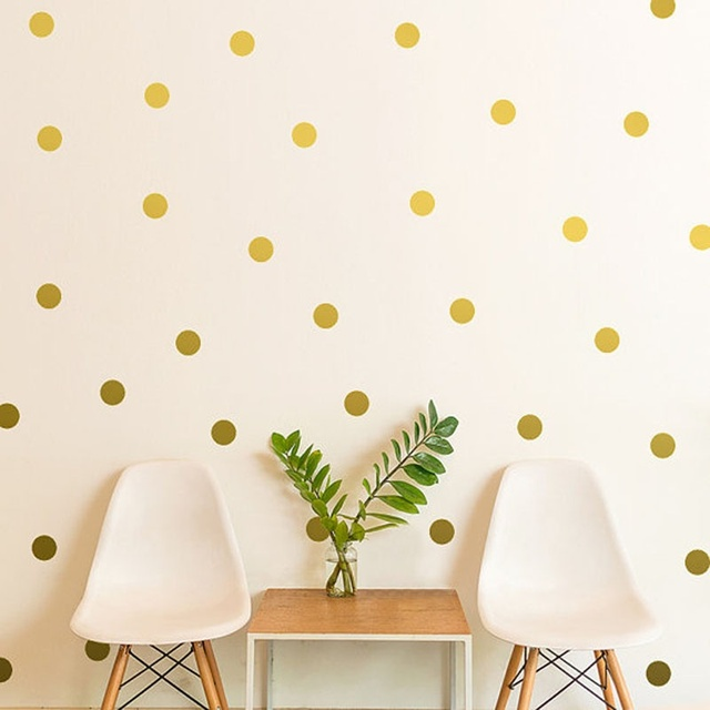 52pcs Polka Dots Wall Sticker Nursery Stickers Kids Children Wall ...