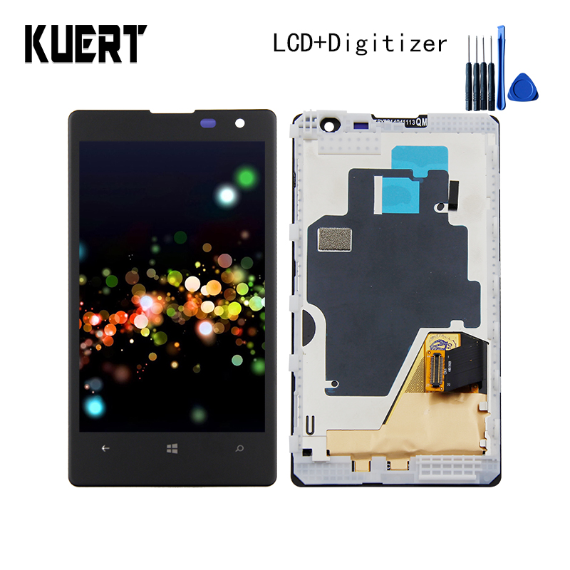 KUERT 4.5High Quality For Nokia Lumia 1020 RM-875 Touch Screen Digitizer 1280x768 LCD Display Assembly With Frame Free shippingKUERT 4.5High Quality For Nokia Lumia 1020 RM-875 Touch Screen Digitizer 1280x768 LCD Display Assembly With Frame Free shipping
