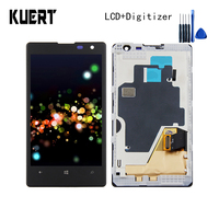KUERT 4 5 High Quality For Nokia Lumia 1020 RM 875 Touch Screen Digitizer 1280x768 LCD