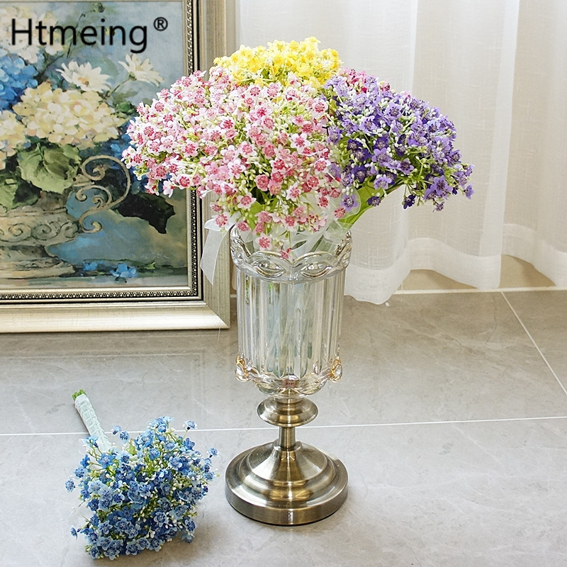 flower decoration for wedding reception.htm htmeing new year gifts artificial flowers fake babys breath  artificial flowers fake babys breath