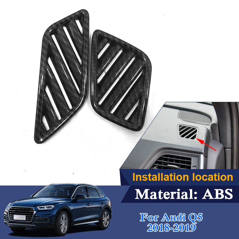 Car Styling Center Console Sequin For Audi Q5 Q5L 2018