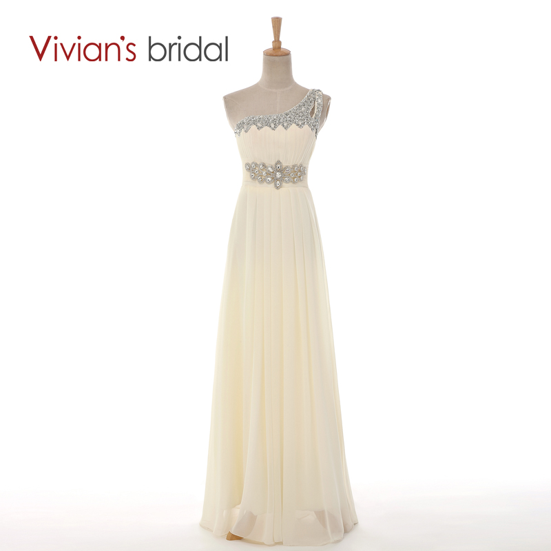 Beaded Cheap   Bridesmaid     Dresses   Long under 50 One Shoulder Chiffon Floor Length   Dress   for   Bridesmaid   bruidsmeisjes jurk