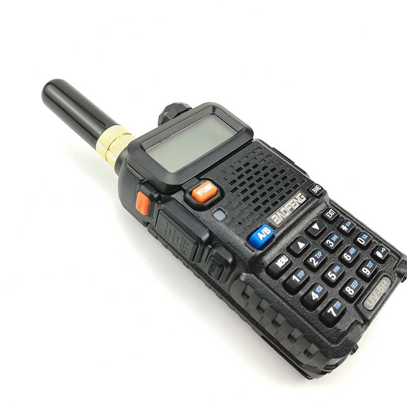 Image 5 - Baofeng UV 5R Walkie Talkie Gain Antenna Dual Band Portable 5cm Short Radio Antenna SMA F for Baofeng UV 5R BF 888s UV 82 Telsiz-in Walkie Talkie from Cellphones & Telecommunications