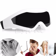 New Electric Eye Care Massager Therapy Relax Vibration Alleviate Magnet Acupressure