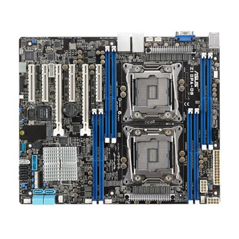 Z10PA-D8 server board C612 puce double serveur carte mère utilisé 90% nouveau