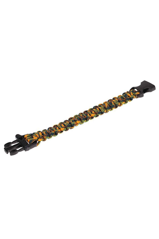Парашютная верёвка из Паракорда, для экстренных ситуаций комплект веревка для спасательных браслетов со свистком Пряжка для туризма Camo-3