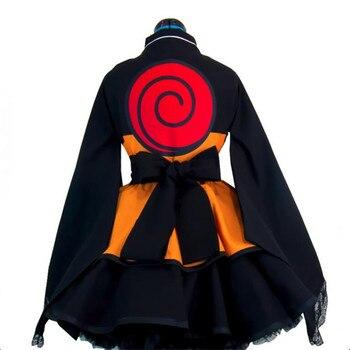 Аниме косплей женский Наруто кимоно 1