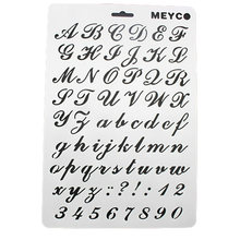 Popular number templates buy cheap number templates lots from china good quality numeral letter fondant cake tools number cake stencil template mold decorating supplies spiritdancerdesigns Images