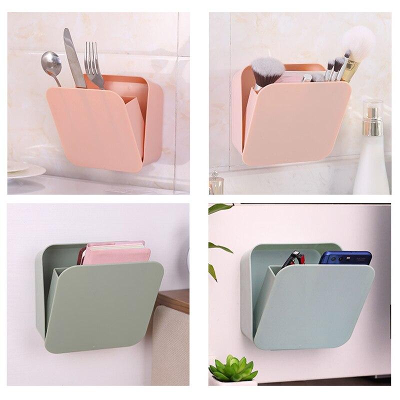 Multifunctional storage box home seamless paste detachable sealed storage box for bathroom kitchen bedroom