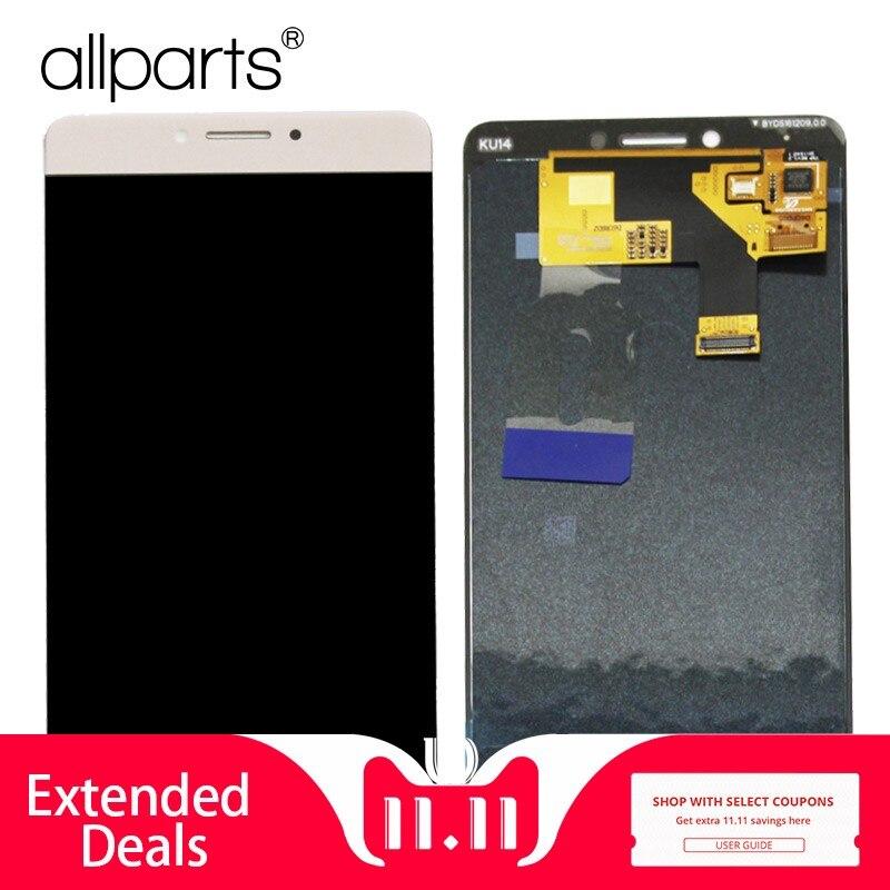 AMOLED LCD Pour Highscreen Puissance Cinq Max cuivre LCD Affichage à L'écran Tactile Digitizer Assemblée pièces De Rechange