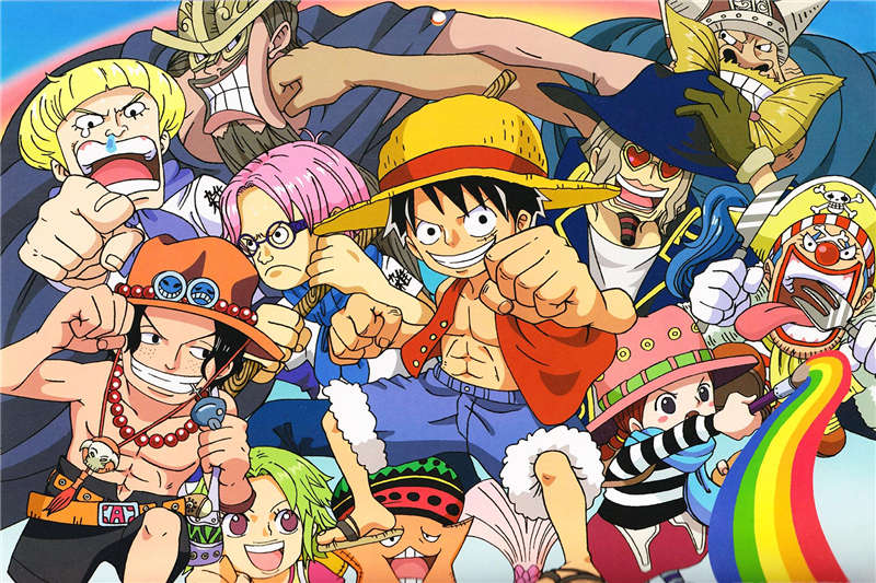 one piece animated - HD 6976×4814