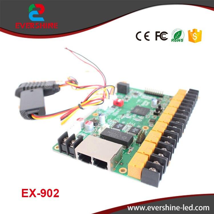 LINSN card EX902 multifunction card Temperature+ Humidity+Brightness Sesor  LED display control card