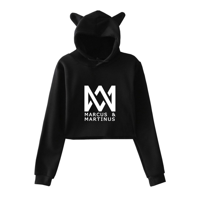 New Fashion Marcus and Martinus Clothes Hoodie Sweatshirt Pullovers Women Long Sleeve Hoody Hooded Hip Hop Streetwear Tops 4XL