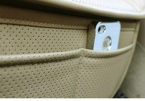 Image 5 - עור כרית מושב המכונית במבוק פחם אחת אוטומטי מושב כיסוי אוטומטי כריות מושב מכונית כרית רכב סטיילינג