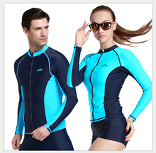 2016 SBART Men Scuba Diving Suits Women Dive Shirt Rash Guards Swimwear Female Wetsuits Swimming Suit Surfing & Beach Tops Combi
