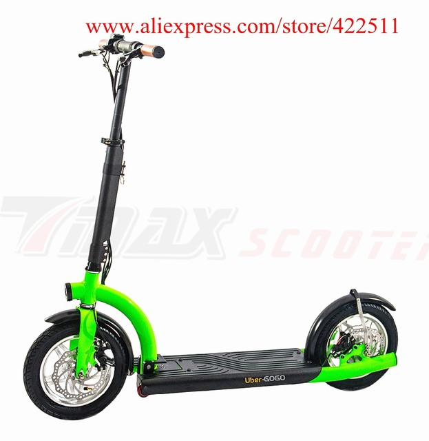 2016 Brand New 300w 36v Hub Motor Electric Scooter 10 4ah Lithium Battery 2 Wheel