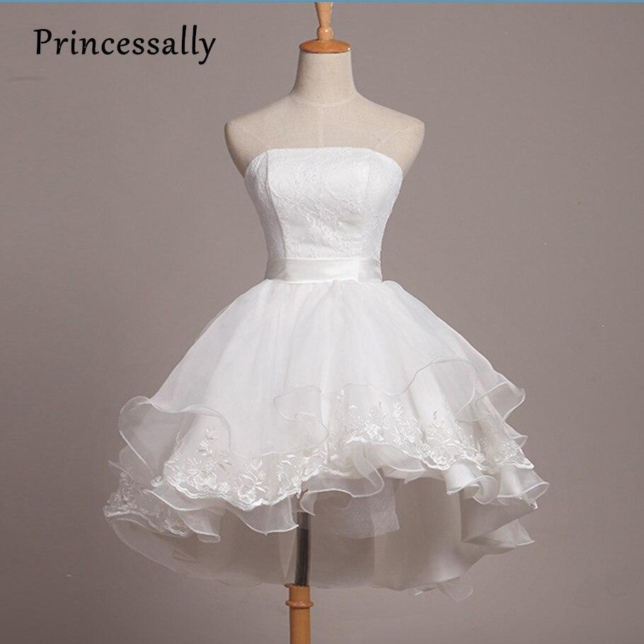 Aliexpress.com : Buy Luxury Short Lace Wedding Dress Cute