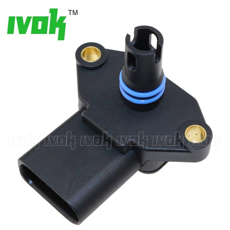 03D906051 036906051D New For VW Golf MK3 MK4 Vento Bora Polo 1.2 1.6 1.4 16V Intake Manifold Pressure Sensor Map 036906051