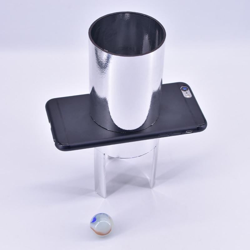 Stein Ball Durch Handphone Glas Magie Tricks Durchdringen Magia Satge Close Up Magie Mentalismus Illusion Gimmick Prop Accessary