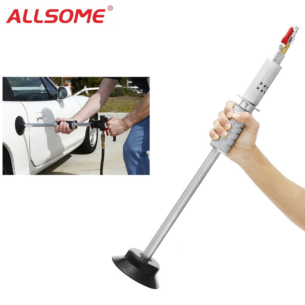 ALLSOME Air Pneumatic Dent Puller Car Auto Body Repair Suction Cup Slide Hammer Tool Kit Slide Hammer Tools HT1685