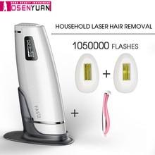 IPL эпилятор 1050000 раз, лазерный эпилятор для удаления волос с ЖК дисплеем, электрический триммер для постоянного бикини