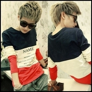 2012les t autumn and winter male clothes clot sweatshirt outerwear male