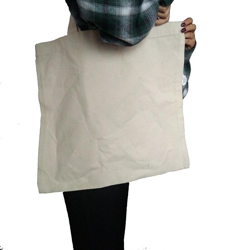 Solid Color Simple Women Shopping Bags Ladies Corduroy One Shoulder Bags Girls School Bags Women Big Capacity Beach Eco Folding