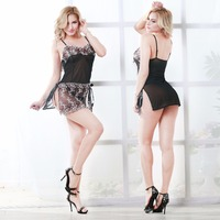 Lace Transparent Women Clothing Babydoll Lingerie Sexy Top Selling Lingerie Sexy Hot Erotic Sexy Lingerie Hot pron m8056