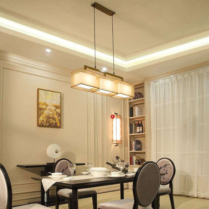 Estilo chino moderno restaurante colgante luces para el hogar ...