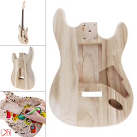 New Maple Guitar Barrel Body Already Polished Punched for ST Electric Guitar DIY Accessory Support Painting