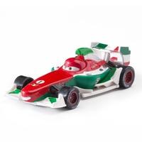 Disney Pixar Cars 2 3 Role No.1 Francesco Lightning Mcqueen Jackson Storm Mater 1:55 Diecast Metal Alloy Model Car Toy Kid Gift