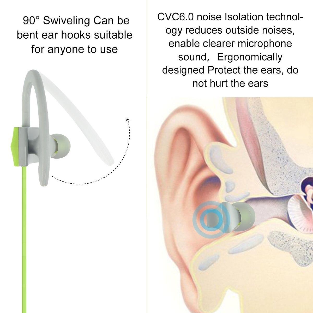 Ubit BH-05 Auricular Bluetooth para deportes con micrófono - Audio y video portátil - foto 5
