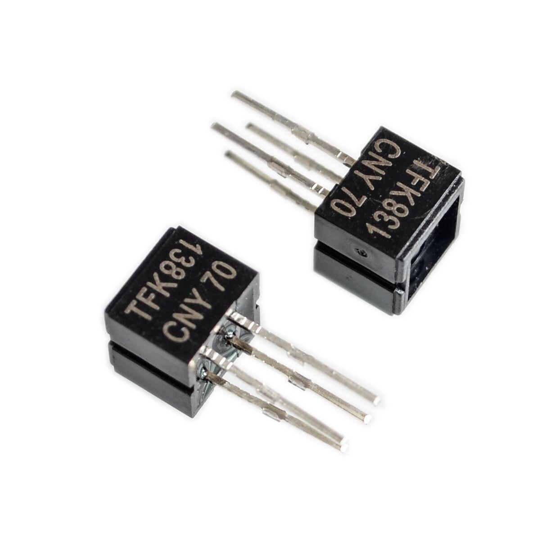 10pcs Cny70 Reflective Optical Sensor With Transistor Output Dip 4