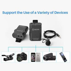 Image 5 - Boya BY WM4 Pro Lavalier Wireless Microphone Lapel Studio Mic for DSLR Cameras Sony DSLR Smartphone BY M1 Mic PK Comica BOOMX D