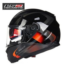 100% Original LS2 ff328 motorcycle helmet with inner sun visor full face helmet double visor helmet with anti-fog visor